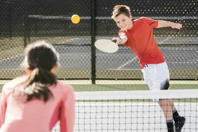 pickleball coaching kids