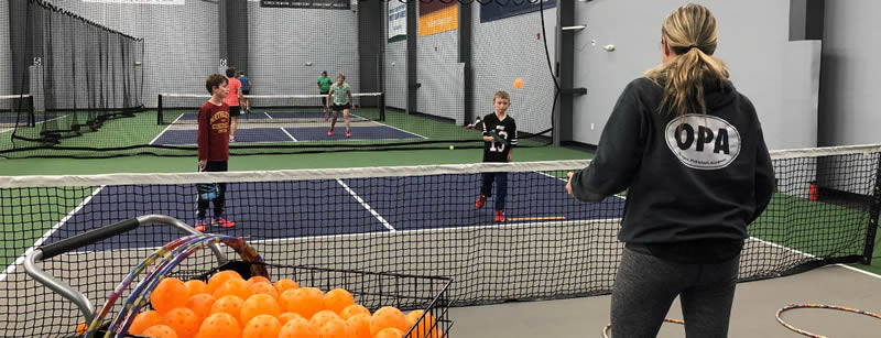 pickleball kids coaching